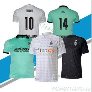 Borussia Mönchengladbach Soccer Jerseys 2020 Home THURAM GINTER Soccer Shirt RAFFAEL PLEA ELVEDI LAINER Football Uniform