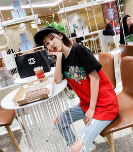 20SS nouvelles femmes de luxe Chemises d'été marque T-shirts manches courtes T-shirts des femmes des hommes Top Mode Streetwear Vêtements pour hommes Deux couleurs B1015254T