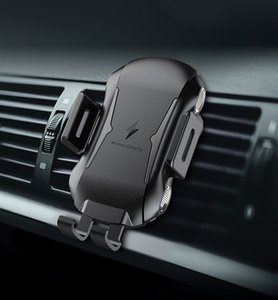 New X318 Wireless-Auto-Ladegerät 10W Qi voll automatische Spannmontage wirelss Schnellladegerät Auto Entlüfter Telefonhalter mit Kleinpaket