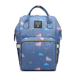 2019 New Fashion Mummy Diaper Bag Stripe Mommy Backpacks Large Capacity Travel Maternity Women Bags Baby Care Nursing Diaper Bag