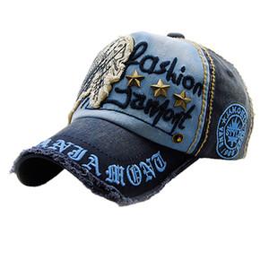 Gorra de béisbol del casquillo del dril de Mujeres Flor bordada Moda Snapback Topee accesorios de vestir czapka z daszkiem