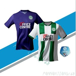 2020 2021 FC Groningen futbol formaları ev uzakta 2020 Groningen Deyovaisio Zeefuik Daishawn Redan formalarını maillot de foot Robben