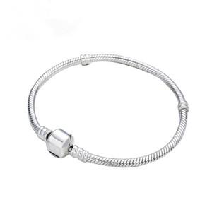 Simple Snake style gourmettes os pour Hommes Femmes d'argent plaqué or Bracelet Accessoires Bijoux fantaisie