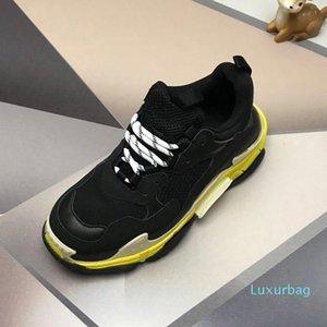 Paris 17FW Triple-S Walking Shoes Luxury Dad Shoes chaussures femme Triple S 17FW Sneakers Women Vintage Old Grandpa Trainer Outdoor c22 01