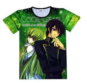Anime Shirt Code Geass Lelouch of the Rebellion Magliette Multi-style Lelouch Lamperouge Cosplay Motivs Hentai Camicie