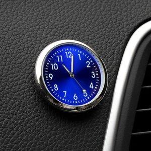 Aydınlık Araba Saat Mini Otomobiller İç Çubuk-On Digital İzle Mekaniği Kuvars Saatler Otomotiv Araç Şekillendirici Aksesuarları