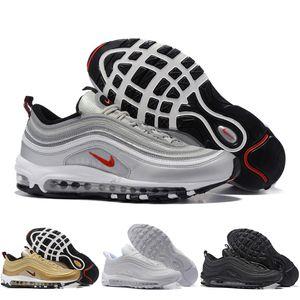 Nike Air Max 97 2019 Männer OG Kissen Marine Sport High-Quality Chaussure Wanderschuhe Herren Laufschuhe Kissen Turnschuhe Größe 36-46