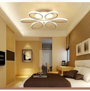 Постмодерн минималистский LED потолочный светильник форма цветка творческих детская комната гостиная лампа личности спальни лампа освещения дома R6