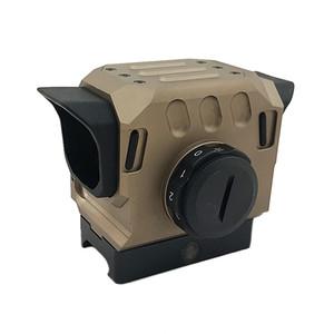 Tactical DI EG1 - Roter Punkt-Ziel-Hologramm-Anblick für 20mm-Schienenjagd-Bereich Dark Earth