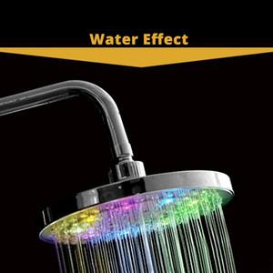 Yenhome auto-luminoso Top Spray sprinkler Water Saving regolabile precipitazioni Bagno Doccia testa LED ad alta pressione Spruzzatori Overhead