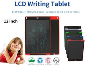 그래픽 태블릿 어린이 / 어린이 성인 회화 12 인치 LCD 쓰기 태블릿 전자 칠판 필기 패드 디지털 드로잉 보드