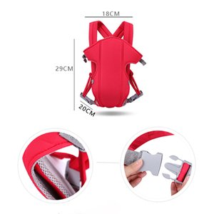 MissAbigale Breathable Front Facing Baby Carrier Comfortable Sling Backpack Pouch Wrap Baby Kangaroo Adjustable Safety Carrier
