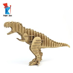 3D Dinosaur Model Puzzle children's educational toys dinosaur model Material Safety and Environmental Protection 3d animal puzzle