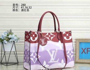 Designer femmes sac à main d'embrayage Fleur OnTheGo GM Tote ESCALE SPEEDY PU cuir de luxe Crossbody shopping sac à bandoulière