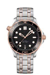 ساعات ميكانيكية أوتوماتيكية لذكر سلسلة الحصين الفولاذية بلا صدع مشبك حزام ذو جودة عالية Wristwatches Auto Date Analog Dia