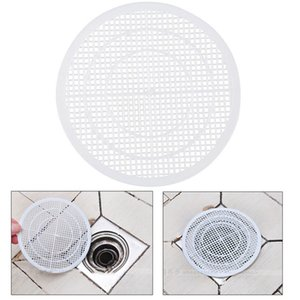 1 piece Household Drain Hair Catcher Bath Stopper Plug Sink Strainer Filter Shower Cover Trap, White