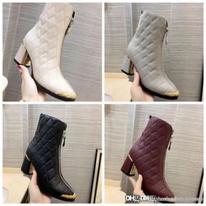 Lüks Chanel Platformu Elektrik nakış yüksek dereceli koyun derisi çizmeler Orijinal Moda Gerçek Deri kadın Tasarımcı Spor Sneakers 34-41