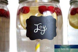 Fancy Mason Jar mariage Chalkboard Étiquettes Verre à vin Boisson Étiquette Coupe diy Réception Idée déco