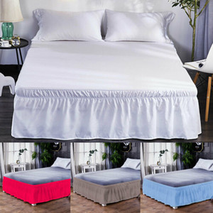 Art und Weise neu Feste Bed Rock-elastische Band-Bett Schürze Bedding bedskirt Practical No Fade Bed Rock