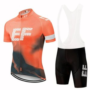 2020 Yaz Ef Education First Team Bisiklet Jersey Erkekler Kısa Kollu Yarış Giyim Mtb Bisiklet Giyim Maillot Ciclismo Y040905 ayarlar