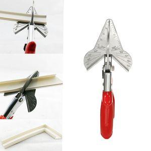 Coupeur de chanfrein de PVC de coupe de chanfrein multi-angle de bordure de bardage en acier de mitre de cisaillement de filet coupe la coupe des outils de coupe de 45 à 120 degrés
