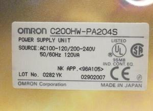 Fonte de alimentação original do CLC de Omron C200HW-PA204S Envio acelerado livre novo na caixa