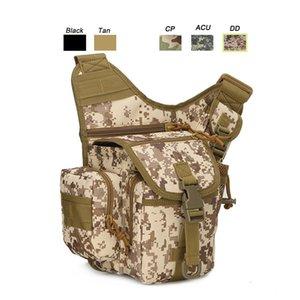 Oudoor Sports Waterproof Tactical Pack   Rucksack   Knapsack   Assault Combat Camouflage Versipack Tactical Molle Shoulder Bag P11-202