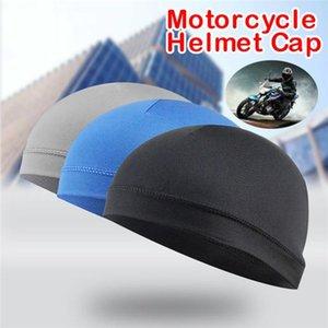 Riding Cycling Cap absorbe la humedad de enfriamiento casco forrado casquillo aislante protector solar con banda para el sudor cúpula beanie al por mayor # 2L3