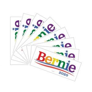 Бесплатная доставка 4 Styles 2020 президентские выборы в США автомобилей Наклейки Bernie Sanders бампер автомобиля Наклейки Оптовая