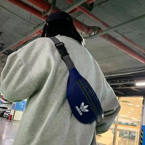 Oxford tela unisex del hombro de lujo para mujer del bolso para hombre Marca Waistpack Adolescente Crossbody 5 colores del estilo del deporte al aire libre informal B105717Z