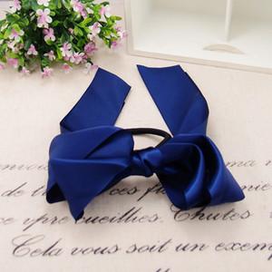 Corde élastique Ponytail Foulard cheveux pour les femmes cheveux Bow Ties Chouchous Bandeaux Fleur Imprimer Ruban Bandeaux Party Favour T1I1995