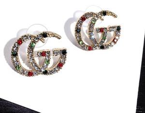 Дизайнерские серьги Изящные ювелирные изделия Love Heart Серьги Женщины Шарм Серьги Серьги-гвоздики для женщин jewerly