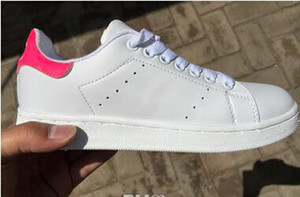 A7 arrivent Zébrures Stan Chaussures pour hommes et femmes Mode Sneakers Casual Sport Lovers Smith Chaussures en cuir Zapatos Mujer grande taille 36-44