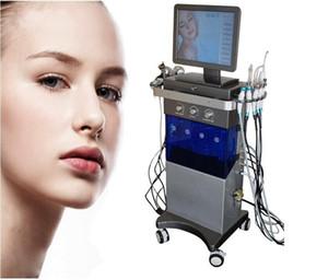 9 in 1 Hydra macchina viso RF pelle rejuvenaiton microdermoabrasione dermoabrasione Hydro bio-lifting rimozione delle rughe HydraFacial MD Spa Macchina
