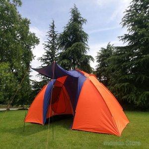 2020 (5-8) NPC Zelt, Sommer doppeltes wasserdichtes Zelt, im Freienzelt Camping, Wandern, Angeln, Jagen, Familie, Partyzelt