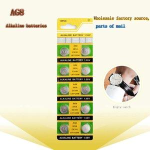 500PCS مصدر مصنع AG8 الجملة LR1120 391 SR1120 زر بطارية LR55 القلوية 1.55V LR1120W CX191 للتحكم عن بعد لعبة ساعة