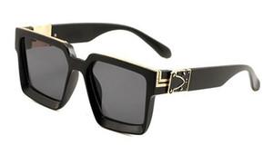 verano nueva mujer al aire libre conduce las gafas de sol del deporte del hombre gafas de sol de diseño de ciclo Gafas de sol negro gafas UV 400 6colors envío libre