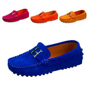 2019 новая осень весна детская обувь дети мальчики обувь воловья кожа повседневная детская спортивная обувь детские кроссовки дышащие мальчики мокасины Y190525