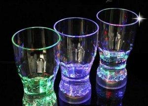 Grandi 11 * 6 centimetri LED lampeggiante festival di plastica bevande Wine Cup Bar Parti Club decorativo tazza Christmas Party