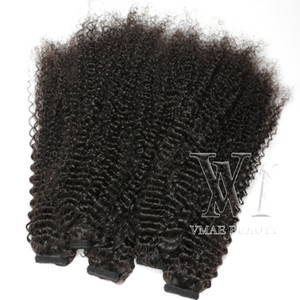 "VM Indian Brasilia Brasilia Colore naturale di alta qualità Ponytail da 14 ""a 26"" pollice 120g Wave Real Human Hair Cashetail Extensions"