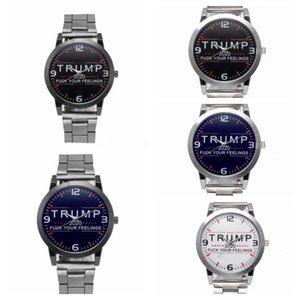 Inoxydable Montre-bracelet de luxe Trump Montres Designer alliage rétro unisexe Montres de mode style rétro Montre WY464Q