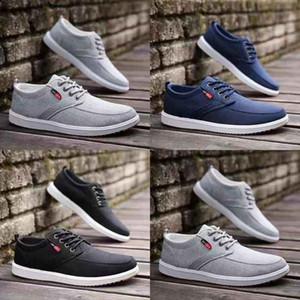 Diseñador de la marca Zapatillas de deporte Zapatos casuales Zapatillas de deporte Zapatillas de cuero reales Zapato casual de moda de calidad superior Zapatos para mujer / hombre Wish Box Eu: 35-45