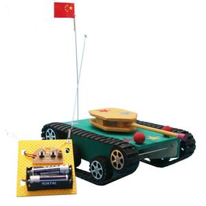 Творческое Модель игрушки Первичный Научно Создание Изобретая экспериментальный материал разведки Сборка удаленного управления Танки
