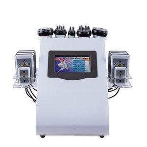 vendita calda liposuzione ultrasuoni 40K multipla, vuoto cavitazione macchina perdita di peso laser due colori