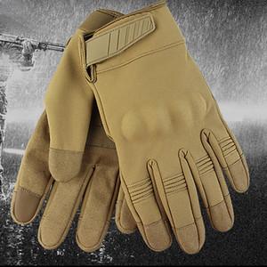Unisex Sports Gloves Full Finger Climb Mount Hike Touchscreen Gloves Windproof Waterproof Protective Outdoor Sports Handwear