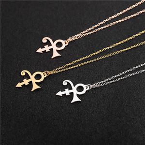 Little Prince Guitar Memorial Love Symbol Symbol Charm Pendant Catena Collana Le Petit Prince Rogers Nelson Artista Collana cantante per le donne