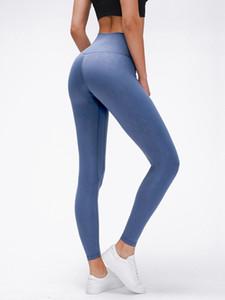 LU-06 женщины йога выровнять брюки Sexy Cold Pacer HR плотно 28 тренажерный зал наряды эластичные спортивные брюки Беговая одежда Леди спортивная одежда Брюки