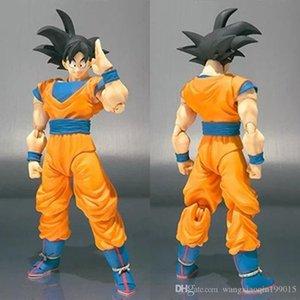 Yeni 15cm SHF Figuras Dragon Ball Z oğul goku rakam Dragonball ortak hareketli PVC Action Figure Koleksiyon çocuklar Oyuncak
