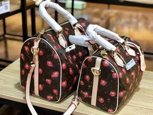 Pelle Femminile Vecchio fiore del cuscino inclinato Tracolla Leboy borsa di lusso del progettista Trend Joker Lusso Boston Borse Zaini Designer