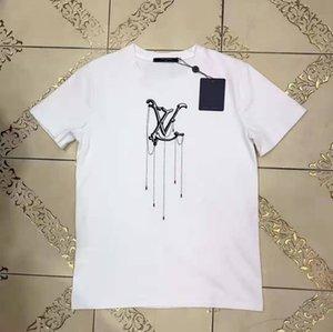 Navio de alta qualidade de luxo Girl T-shirt Brandshirts Designerluxury Mulheres T-shirt Carta Imprimir Moda Casual Verão Tees WA B105587L